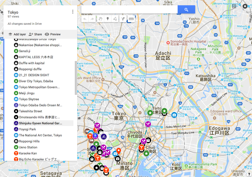 How To Plan Your City Trip With A Custom Google Map Make Custom Map Google on custom tableau maps, custom world maps, custom business maps, gmail maps, game creating your own maps, custom web design, custom united states maps, custom wall maps, make your own cluster maps,