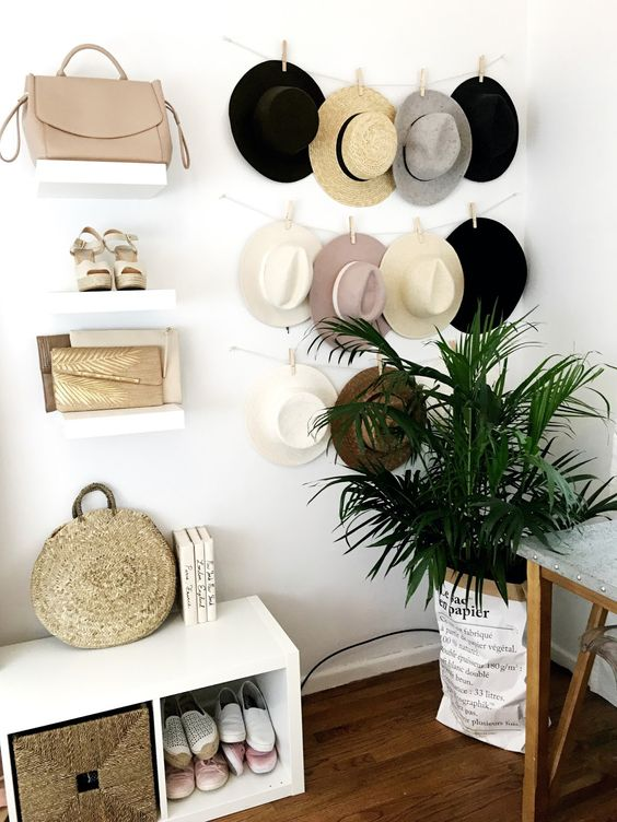 36d328a255f 9 Unique Display And Storage Ideas For The Hat Lover